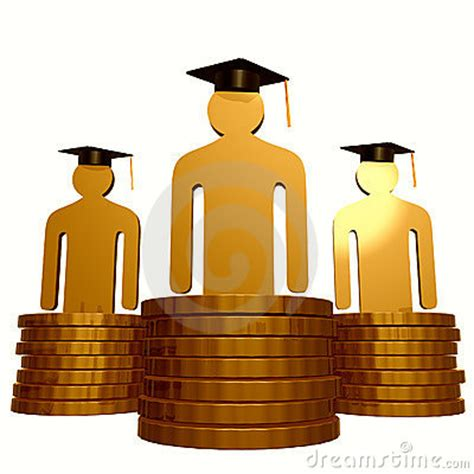 design management scholarship scholarship fund and graduation symbol royalty free stock