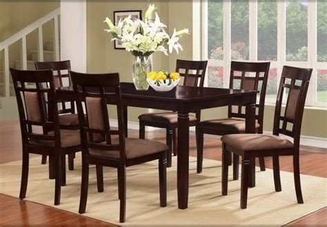 dining room sets for 6 dining room table with 6 chairs marceladick com