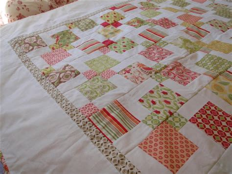 sew hip patience corner quilt completed sewing daisies