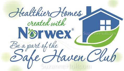 join our norwex safe haven club