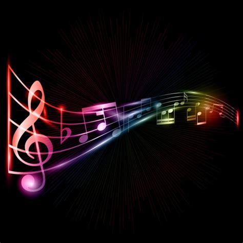 imagenes vectoriales musicales fondo de notas musicales descargar vectores gratis