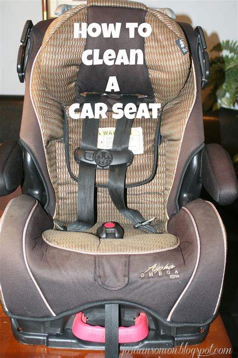 car seat washer how to clean a car seat s easy entertaining