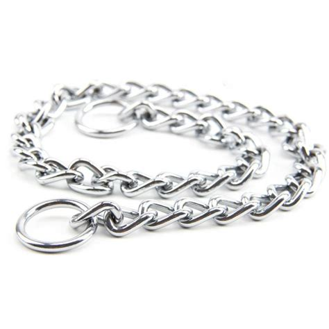 Stainless Steel Chain Choker stainless steel choker chain brava hund