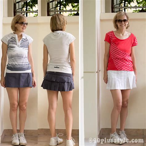pictures of elderly women wearing shorts tastefully tennis clothes for women from stella mccartney