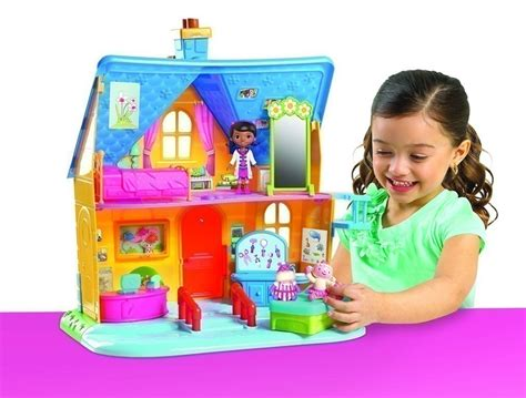 doc mcstuffins house amazon doc mcstuffins clinic doll house with doll just 29 99
