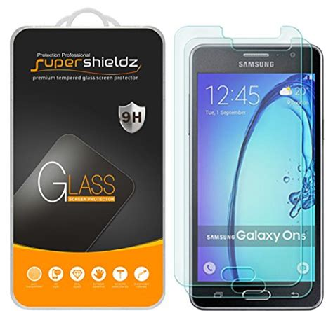 Samsung Galaxy On5 Ory Casing Cover Anti 8 2 pack supershieldz for samsung galaxy on5 tempered glass screen protector anti scratch anti