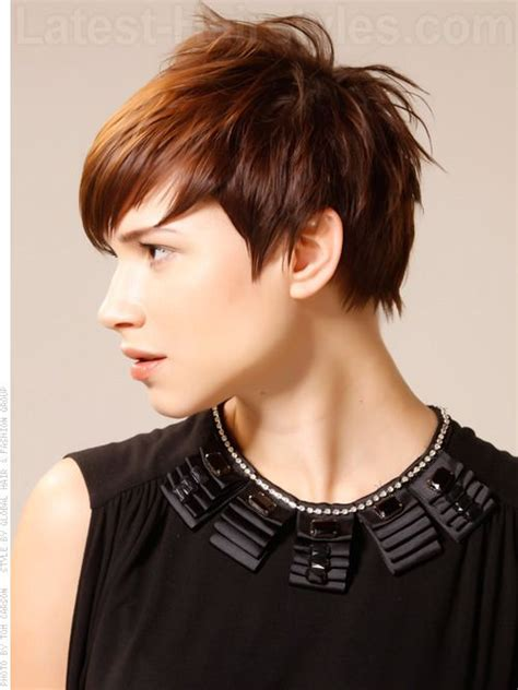 pregnancy haircuts 28 images 8 fabulous hairstyles for piecey pixie brunette style with wisps and pieces side