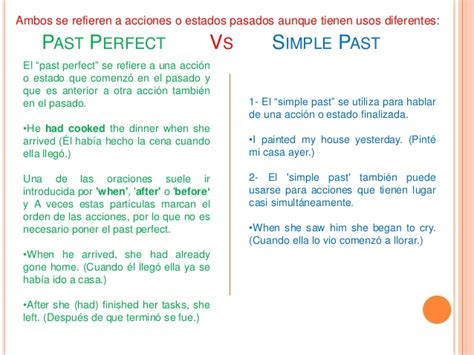 preguntas con past perfect past perfect vs simple past
