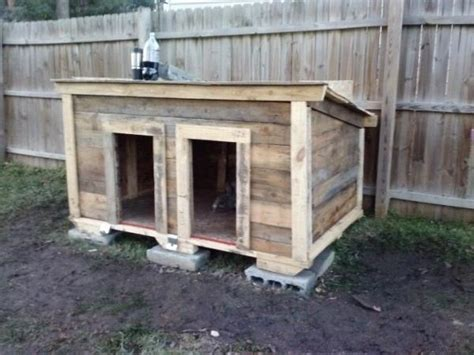 how to build a basic dog house tips to build simple dog house out of some wooden pallets pallets designs