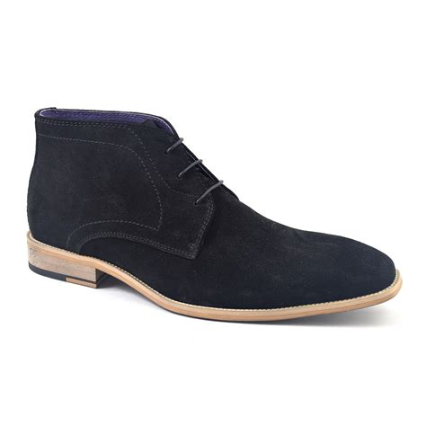 buy black suede chukka boots stylish gucinari
