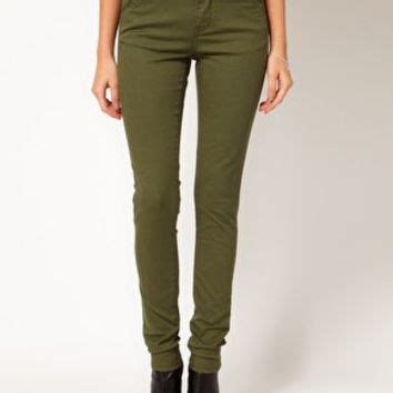 Asos Cotton Twill Trousers by Asos Trousers In Cotton Twill At From Asos