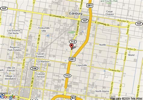 map of edinburg texas edinburg texas 78541 images frompo