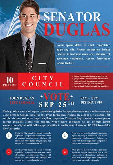 election flyer templates election flyer templates