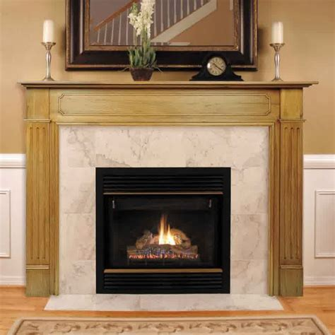 Fireplace Mantle Height by Ideal Fireplace Mantel Height Homesfeed