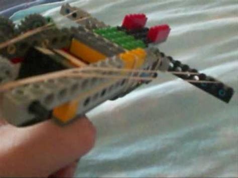 lego crossbow tutorial lego balestra crossbow youtube