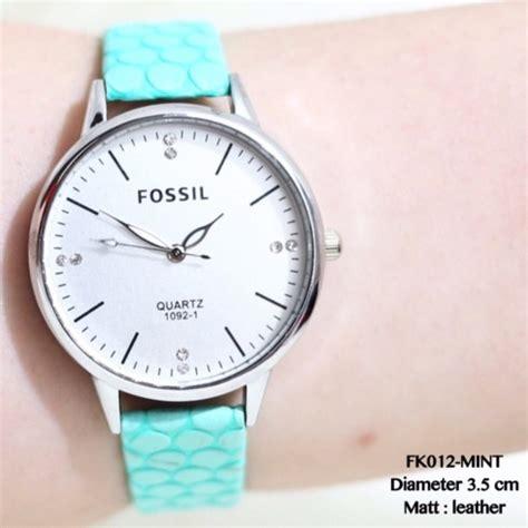 Jam Tangan Rolex Kulit jual jam tangan fossil kulit wanita supplier grosir