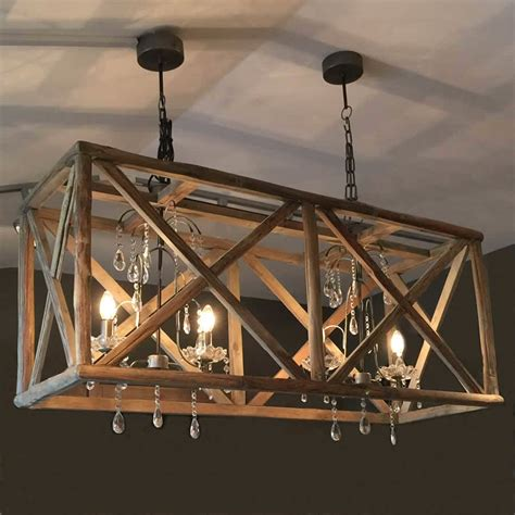 wood chandelier lighting large wooden chandelier with metal and by cowshed