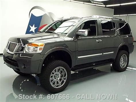 lifted nissan armada pin armada lifted on pinterest
