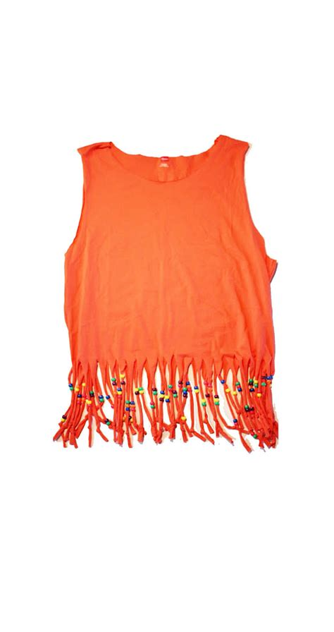 how to fringe and bead a shirt coral tribal beaded fringe shirt