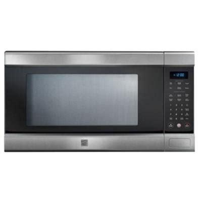 Stainless Steel Countertop Microwave Reviews by Stainless Steel Microwave Oven Countertop Reviews Buy Kenmore 79153 Elite Stainless Steel 1 5