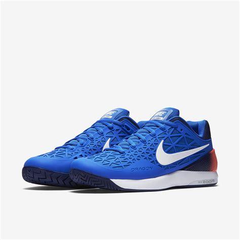 Nike 2016 S Zoom Cage 2 Tennis Shoes Black White 705247 010 nike mens zoom cage 2 eu tennis shoes blue tennisnuts