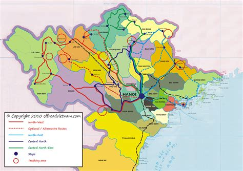 printable vietnam road map destinations and riding maps in vietnam offroad vietnam