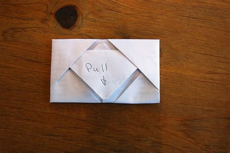 Cool Way To Fold Paper - a note from a former self diary of a