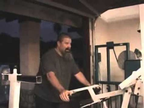 tank abbott bench press tank abbott training for a fight ufc youtube