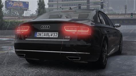 Audi A8 Tuning Teile by Gta 5 2011 Audi A8 L W12 Quattro D4 Add On Tuning 2