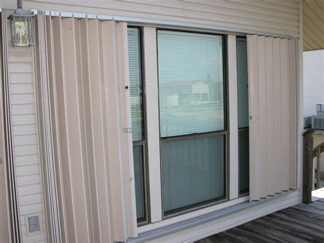accordian blinds hurricane security aramco accordion shutter modern
