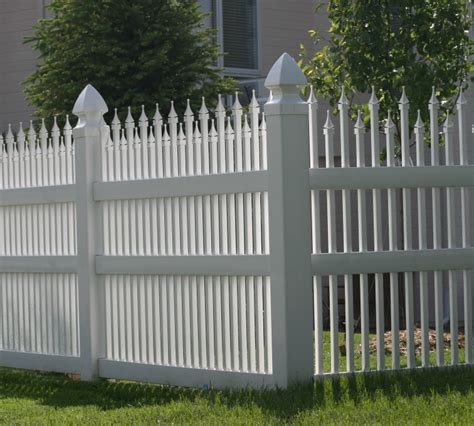 vinyl fencing company ornamental iron the american fence company