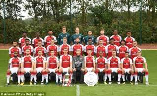 Arsenal Original 1 arsenal s team attend photo day including daily mail