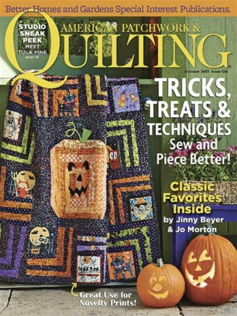 Better Homes And Gardens American Patchwork And Quilting - magazine better homes and gardens american patchwork