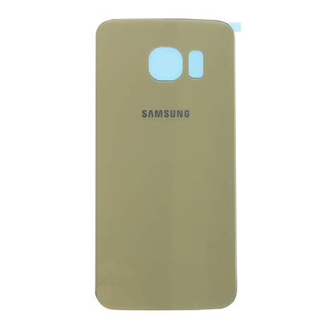 Back Door Samsung S6 By Erco samsung galaxy s6 edge gold platinum rear glass panel