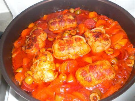 cuisiner des paupiettes de veau au four recette paupiettes de veau aux olives et chorizo 750g