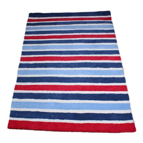 rugs boys boys stripe rug childrens bedding