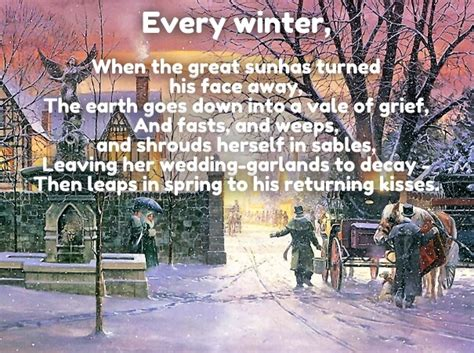 december love quotes poems  romantic winter