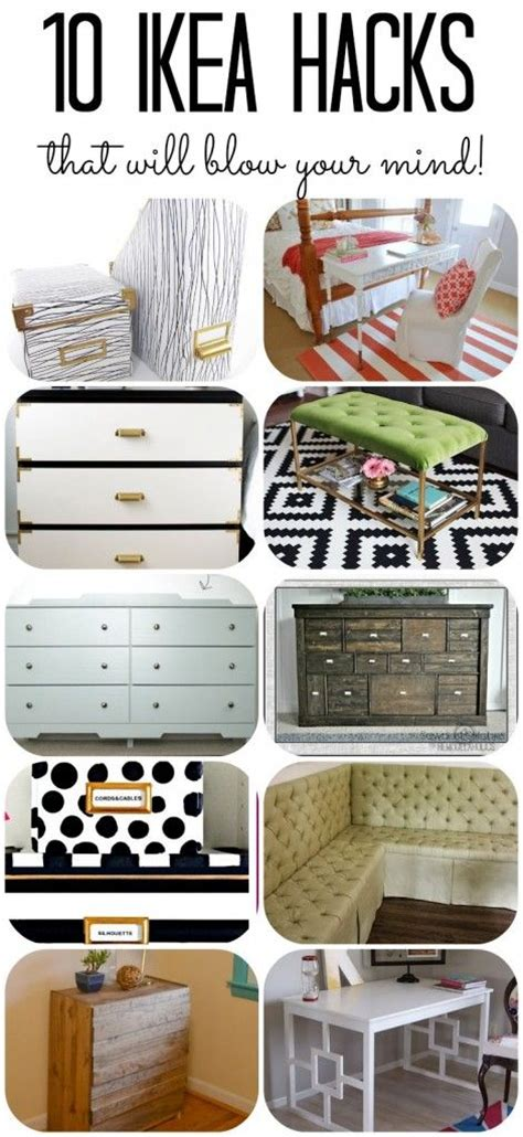 10 inspiring home office designs that will blow your mind decor hacks 10 more amazing ikea hacks that will blow
