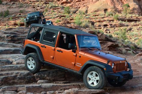 Stock Jeep Wrangler How The Stock Jeep 174 Wrangler Sport Took On Moab Part 1