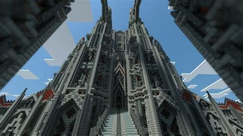 castle  red minecraft building
