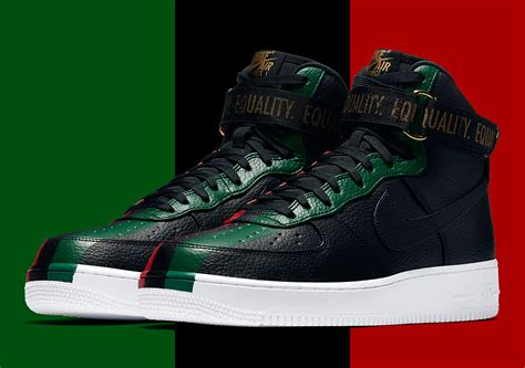 sneaker news release dates nike air 1 high quot bhm quot 836227 002 official images