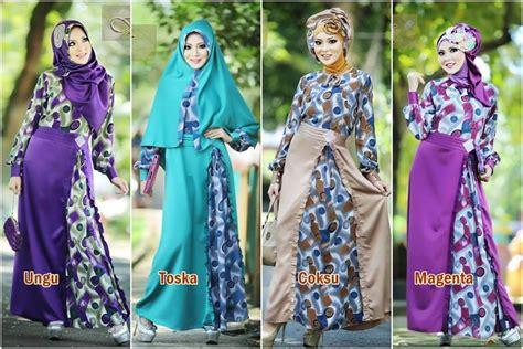 Dress Muslim Gamis Motif Rauna Rk 02 Fanta Dress Murah Ori gamis muslim terbaru may 2014