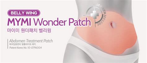 Mymi Patch Best Seller Pelangsing Tubuh Pengecil Perut korea mymi slimming patch koyo pelangsing dari korea belly wing up and low