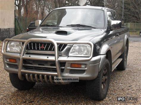mitsubishi truck 2000 2000 mitsubishi l200 magnum 4x4 1 2 cabin car photo and