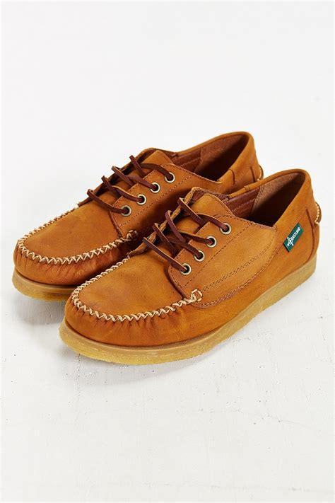 eastland shoes eastland fletcher 1955 shoe in khaki for brown lyst