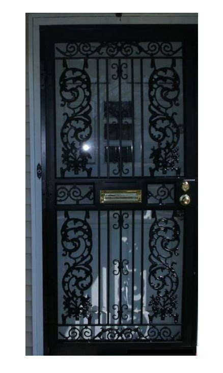 security doors help keep your cleveland area home safe