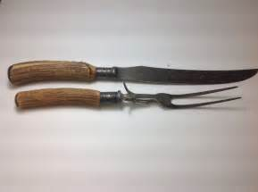 Stainless Steel Kitchen Knives Set vintage meriden cutlery co stag fork amp knife carving set