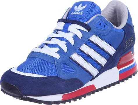 adidas zx  shoes blue white red