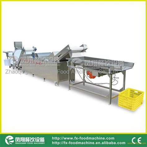 vegetables 5 lines wafc 2000 vegetable cutting line vegetable washing line