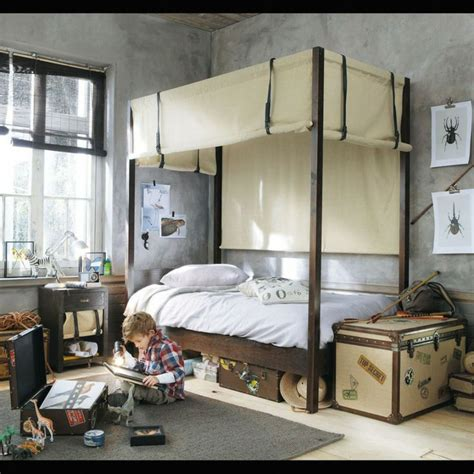 stunning modern canopy bed designs rustic accents grey